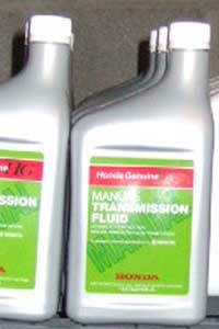 NEW Honda Manual Transmission Fluid