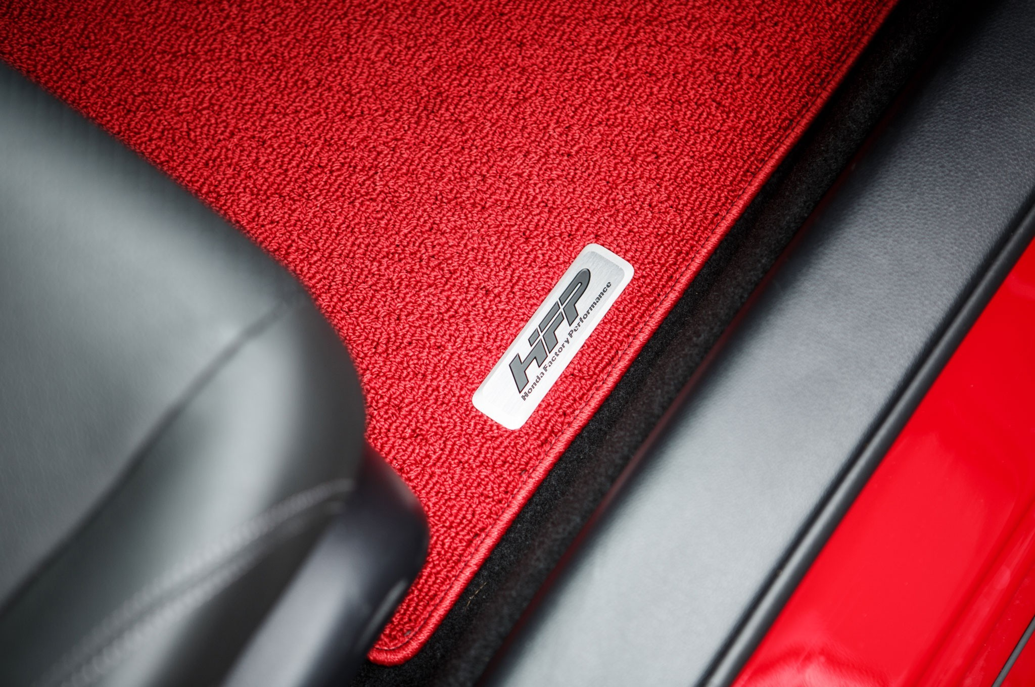 Hfp red floor mats 2013 2017 accord coupe