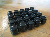 OEM BLACK LUG NUTS