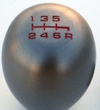 JDM Type R shift knob RED LETTERING