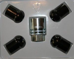 OEM Black Wheel Locks (Set of 4)